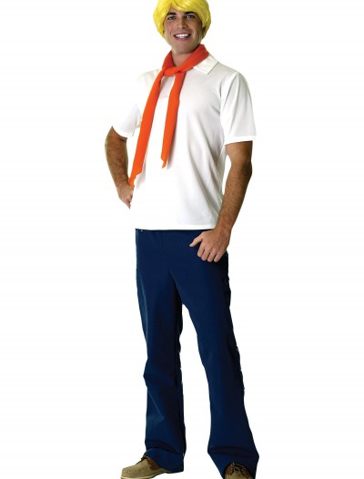 Adult Fred Costume, halloween costume (Adult Fred Costume)