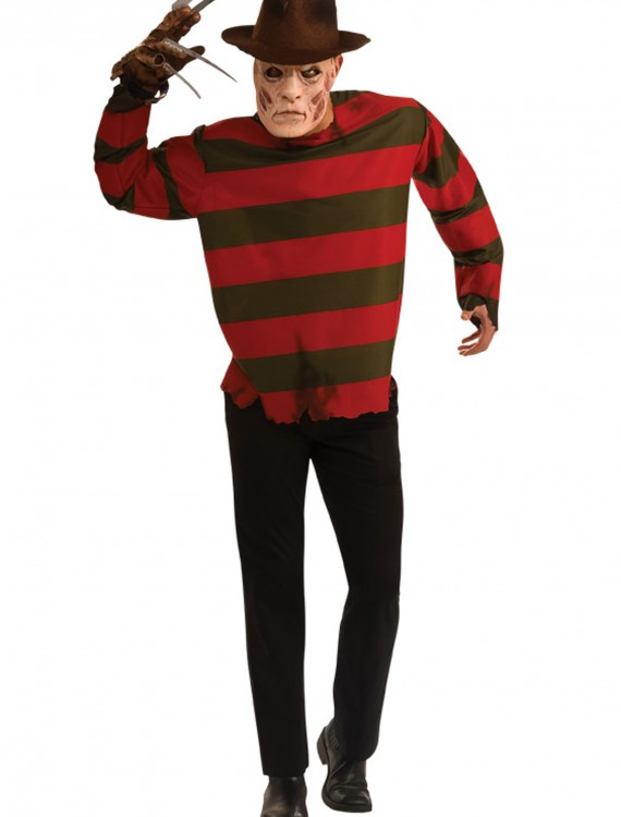 Adult Freddy Krueger Costume, halloween costume (Adult Freddy Krueger Costume)