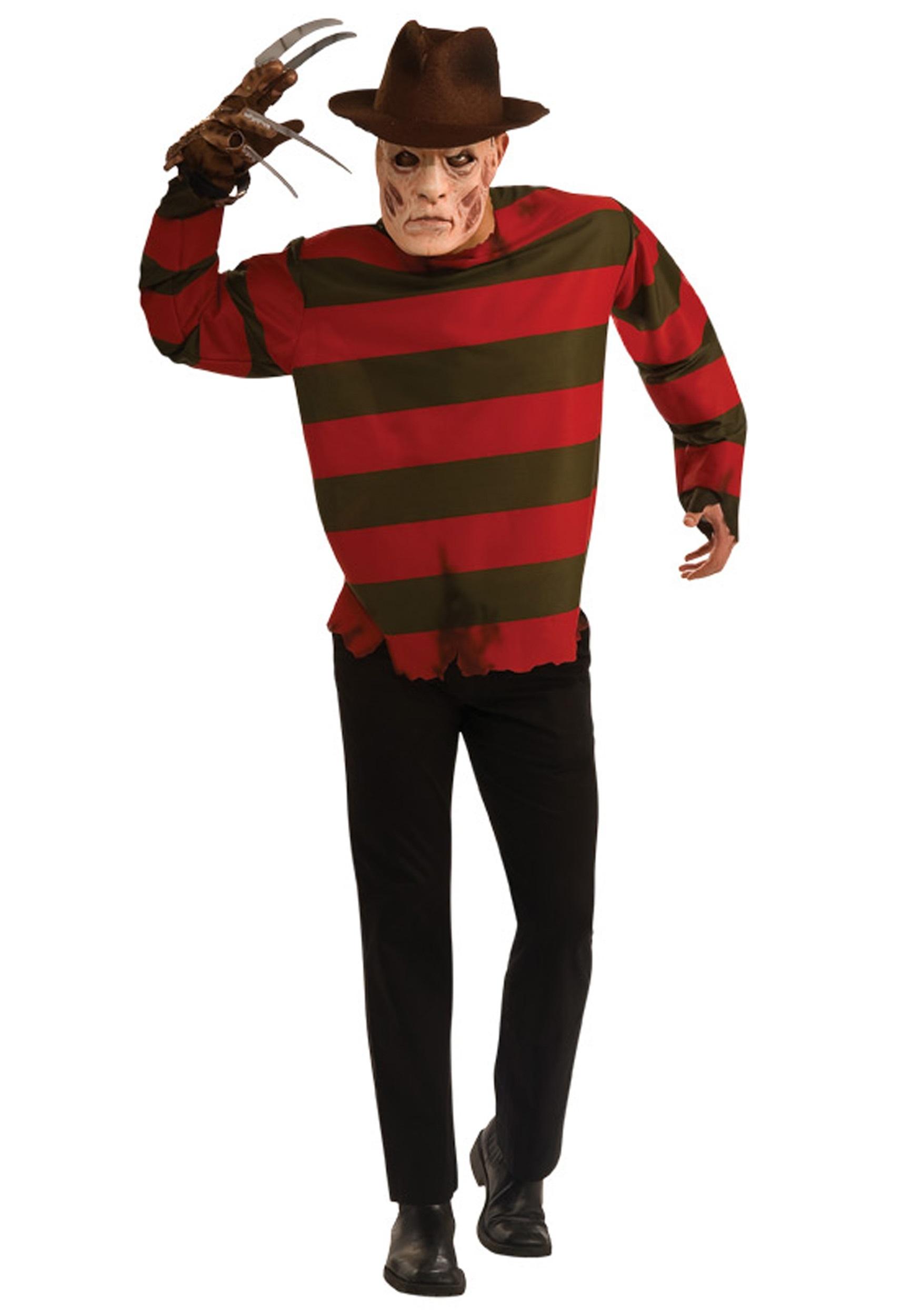 adult freddy krueger costume - halloween costumes