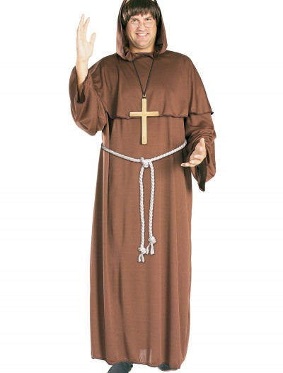 Adult Friar Tuck Costume, halloween costume (Adult Friar Tuck Costume)