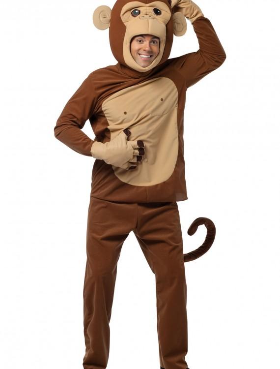 Adult Funky Monkey Costume, halloween costume (Adult Funky Monkey Costume)