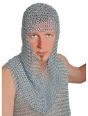 Adult Galvanized Iron Chainmail Hood, halloween costume (Adult Galvanized Iron Chainmail Hood)