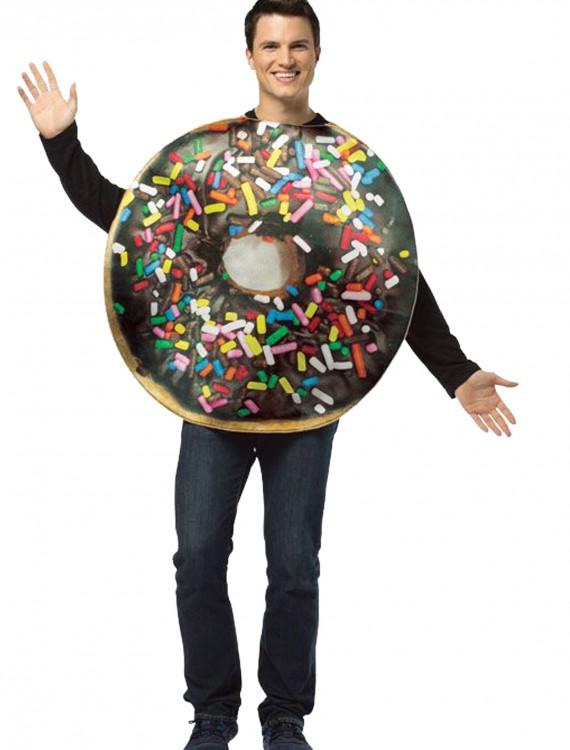 Adult Get Real Doughnut Costume, halloween costume (Adult Get Real Doughnut Costume)