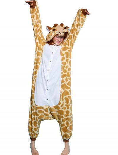 Adult Giraffe Pajama Costume, halloween costume (Adult Giraffe Pajama Costume)