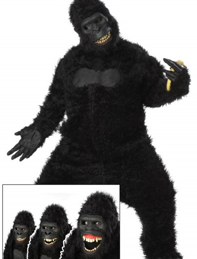 Adult Goin Ape Gorilla Costume, halloween costume (Adult Goin Ape Gorilla Costume)