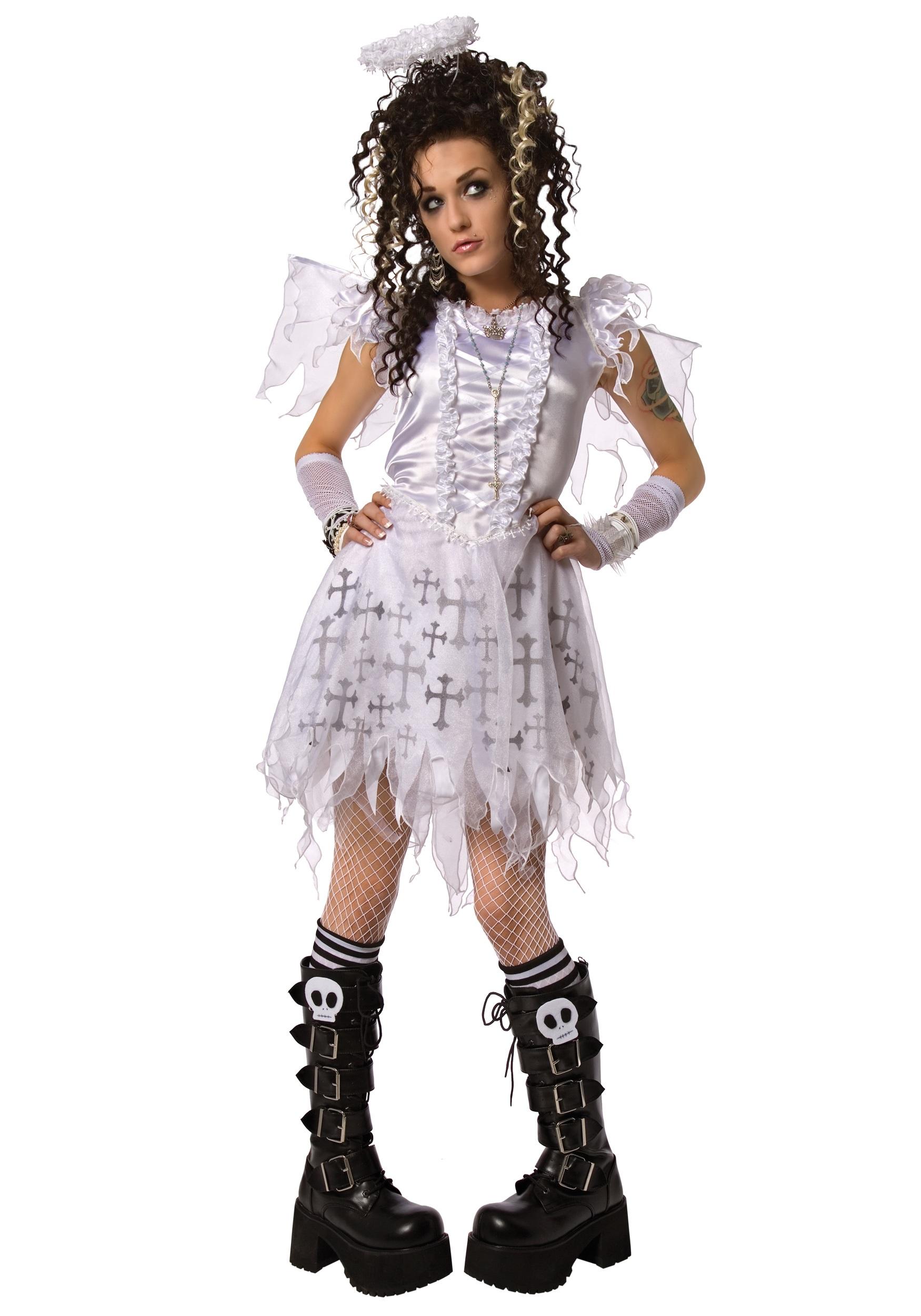 Adult Gothic Angel Costume - Halloween Costumes