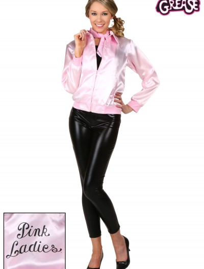 Adult Grease Pink Ladies Jacket, halloween costume (Adult Grease Pink Ladies Jacket)