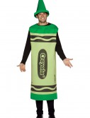 Adult Green Crayon Costume, halloween costume (Adult Green Crayon Costume)