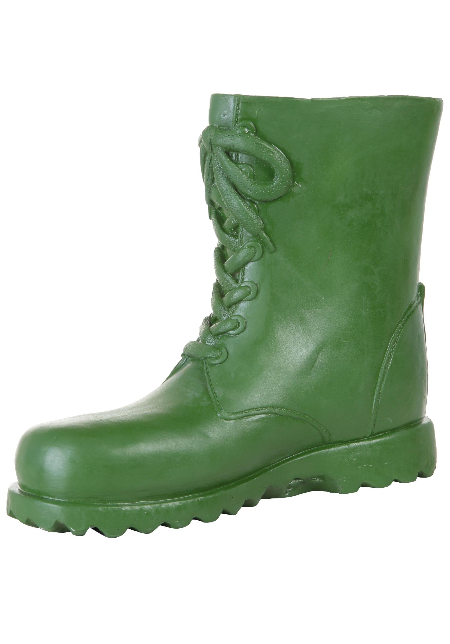 3f8937b50c9 Adult Green Latex Boot Covers