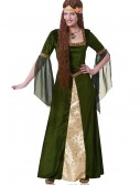 Adult Green Renaissance Lady Costume, halloween costume (Adult Green Renaissance Lady Costume)