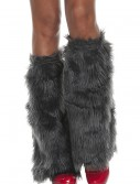 Adult Grey Furry Boot Covers, halloween costume (Adult Grey Furry Boot Covers)