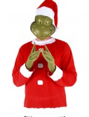 Adult Grinch Costume Top Hat and Half Mask, halloween costume (Adult Grinch Costume Top Hat and Half Mask)