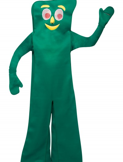 Adult Gumby Costume, halloween costume (Adult Gumby Costume)