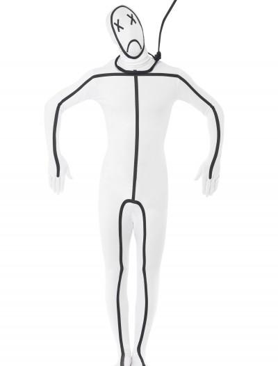 Adult Hangman Second Skin Suit, halloween costume (Adult Hangman Second Skin Suit)