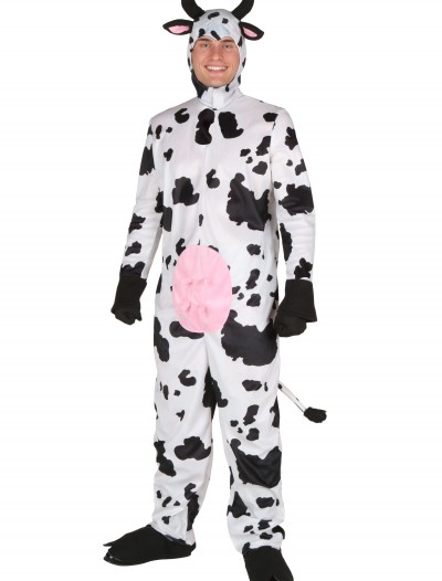 Adult Happy Cow Costume, halloween costume (Adult Happy Cow Costume)