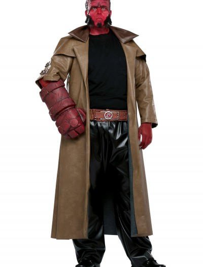 Adult Hellboy Costume, halloween costume (Adult Hellboy Costume)