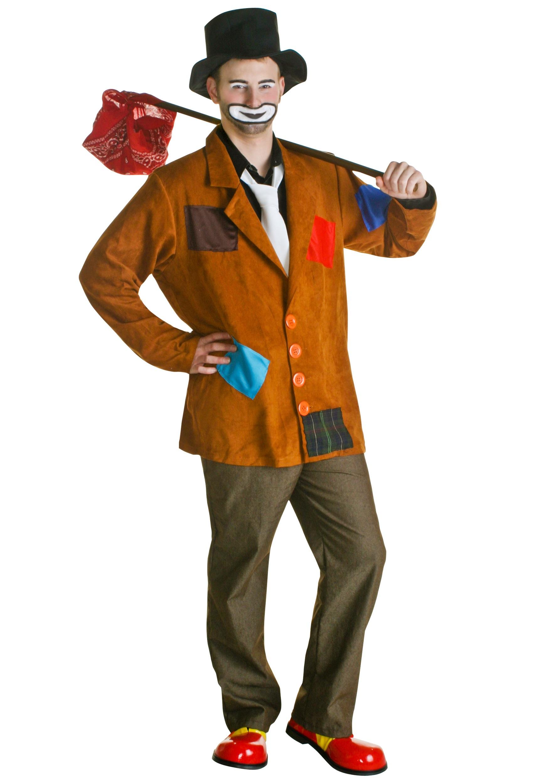 Adult Hobo Clown Costume  sc 1 st  Halloween Costumes & Adult Hobo Clown Costume - Halloween Costumes