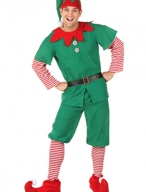 Adult Holiday Elf Costume, halloween costume (Adult Holiday Elf Costume)
