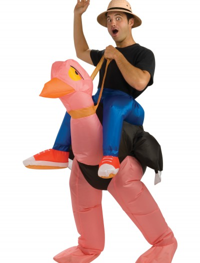 Adult Inflatable Ostrich Costume, halloween costume (Adult Inflatable Ostrich Costume)