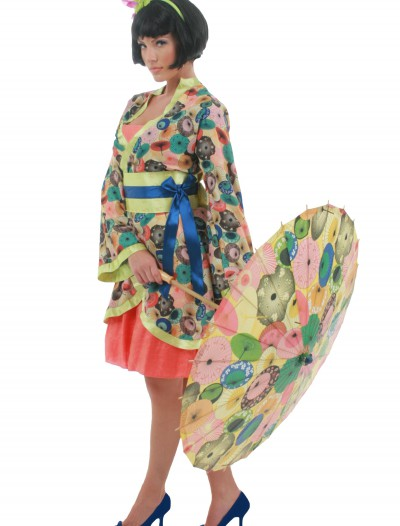 Adult Jade Geisha Costume, halloween costume (Adult Jade Geisha Costume)