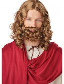 Adult Jesus Wig and Beard, halloween costume (Adult Jesus Wig and Beard)