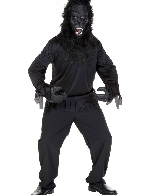 Adult Jungle Gorilla w/ Sound, halloween costume (Adult Jungle Gorilla w/ Sound)