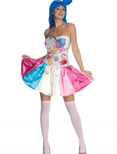Adult Katy Perry Candy Girl Costume, halloween costume (Adult Katy Perry Candy Girl Costume)