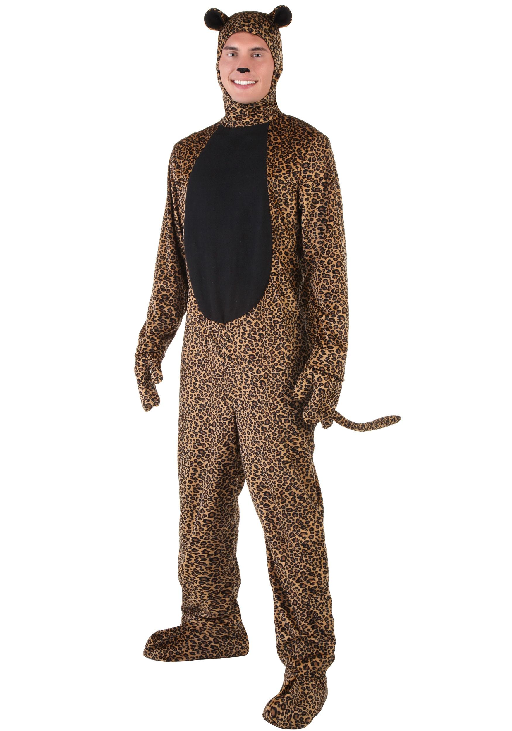 Adult Leopard Costume  sc 1 st  Halloween Costumes & Adult Leopard Costume - Halloween Costumes