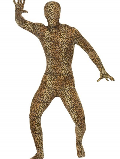 Adult Leopard Second Skin Suit, halloween costume (Adult Leopard Second Skin Suit)