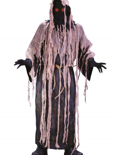 Adult Light Up Gauze Zombie Costume, halloween costume (Adult Light Up Gauze Zombie Costume)