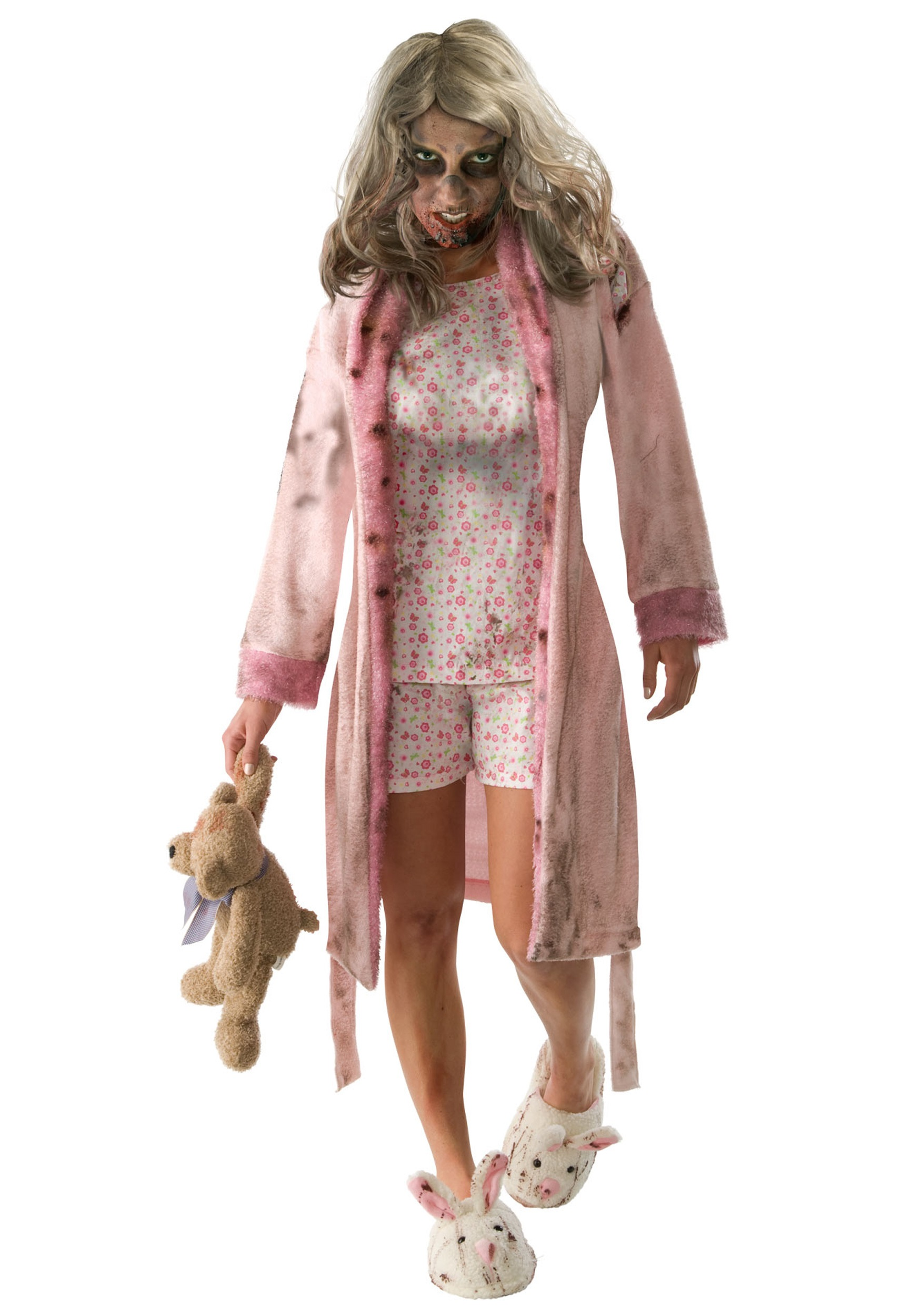 Adult Little Girl Zombie Costume  sc 1 st  Halloween Costumes & Adult Little Girl Zombie Costume - Halloween Costumes