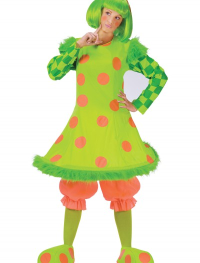Adult Lolli the Clown Costume, halloween costume (Adult Lolli the Clown Costume)