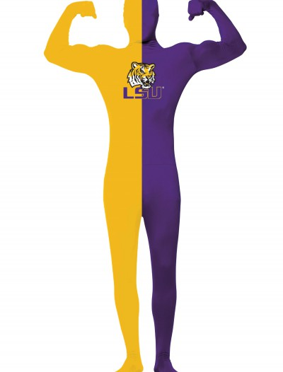 Adult Louisiana State University Skin Suit, halloween costume (Adult Louisiana State University Skin Suit)