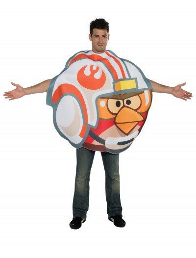 Adult Luke Fighter Pilot Angry Birds Costume, halloween costume (Adult Luke Fighter Pilot Angry Birds Costume)