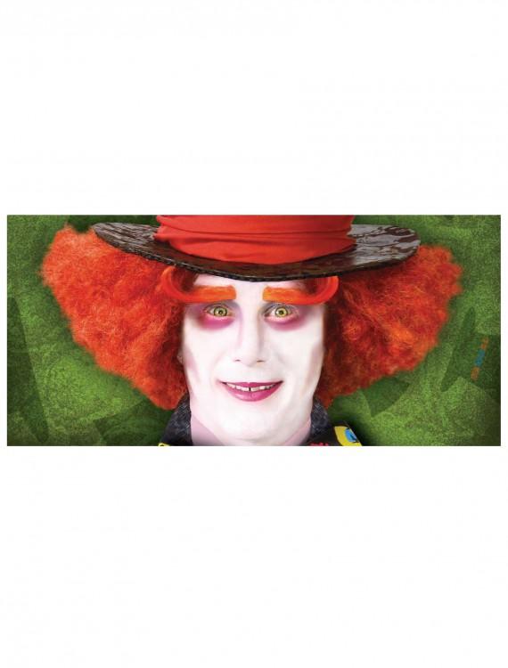 Adult Mad Hatter Eyebrows, halloween costume (Adult Mad Hatter Eyebrows)
