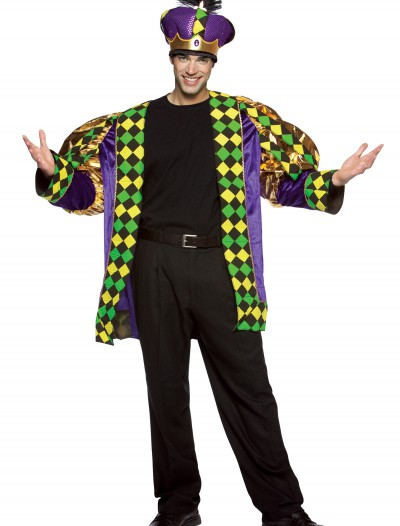 Adult Mardi Gras King Costume, halloween costume (Adult Mardi Gras King Costume)