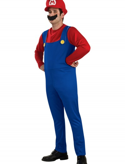 Adult Mario Costume, halloween costume (Adult Mario Costume)