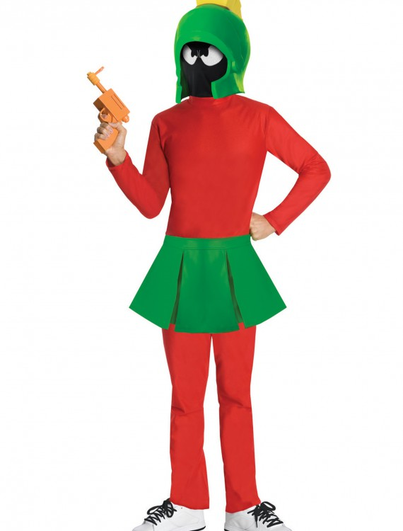 Adult Marvin the Martian Costume, halloween costume (Adult Marvin the Martian Costume)