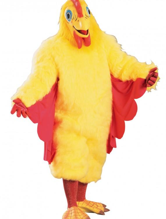 Adult Mascot Chicken Costume, halloween costume (Adult Mascot Chicken Costume)