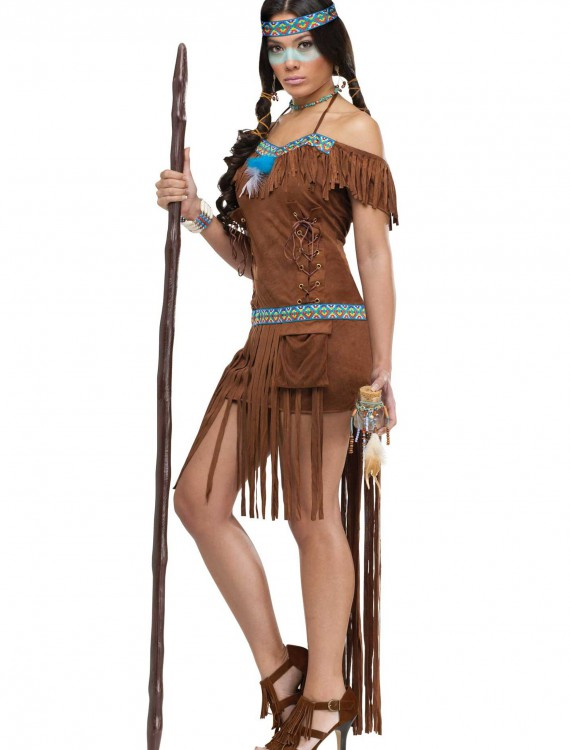 Adult Medicine Woman Costume, halloween costume (Adult Medicine Woman Costume)