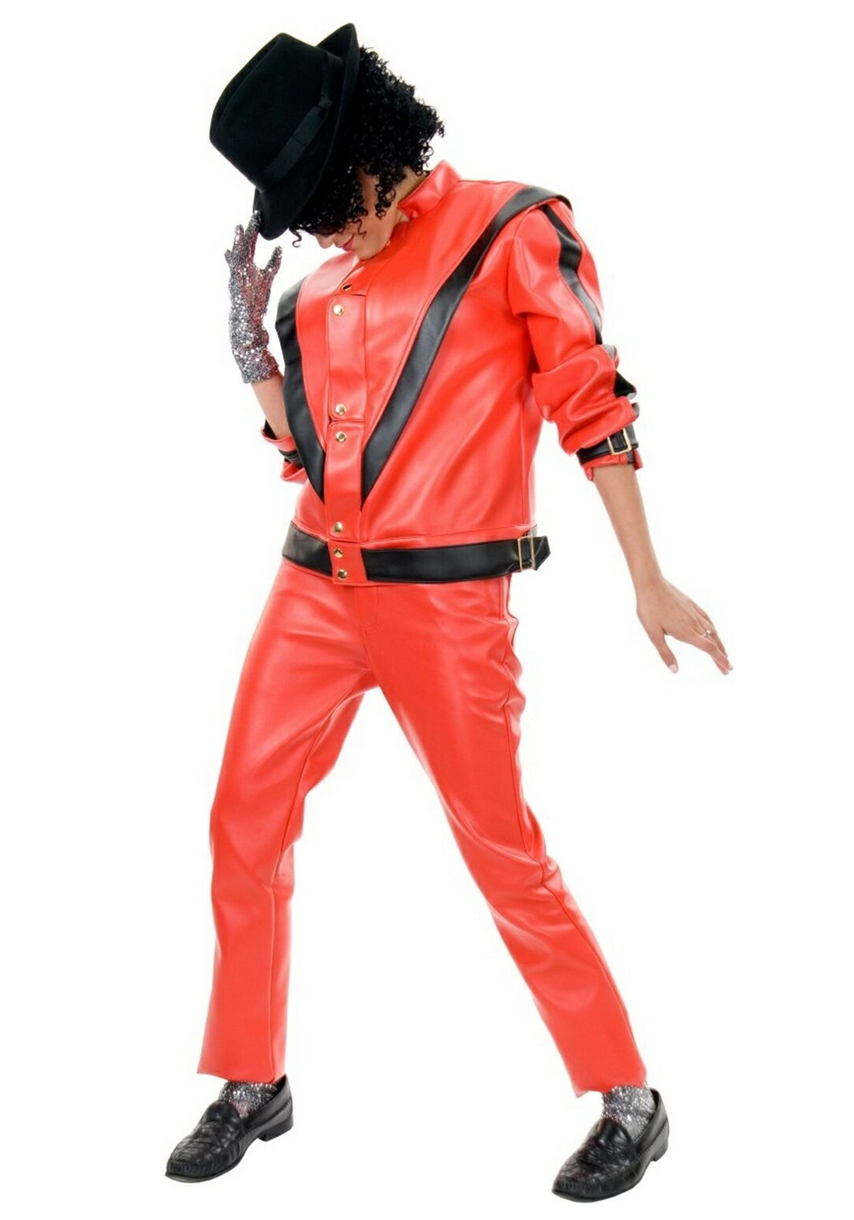 Amazoncom Michael Jackson Red Thriller Jacket Adult