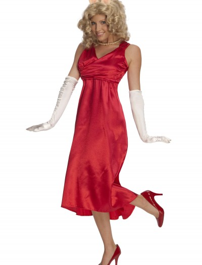 Adult Miss Piggy Costume, halloween costume (Adult Miss Piggy Costume)