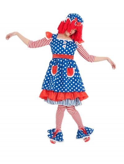 Adult Miss Raggedy Ann Costume, halloween costume (Adult Miss Raggedy Ann Costume)