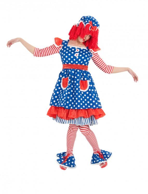 Adult Miss Raggedy Ann Costume, halloween costume (Adult Miss Raggedy Ann Costume)