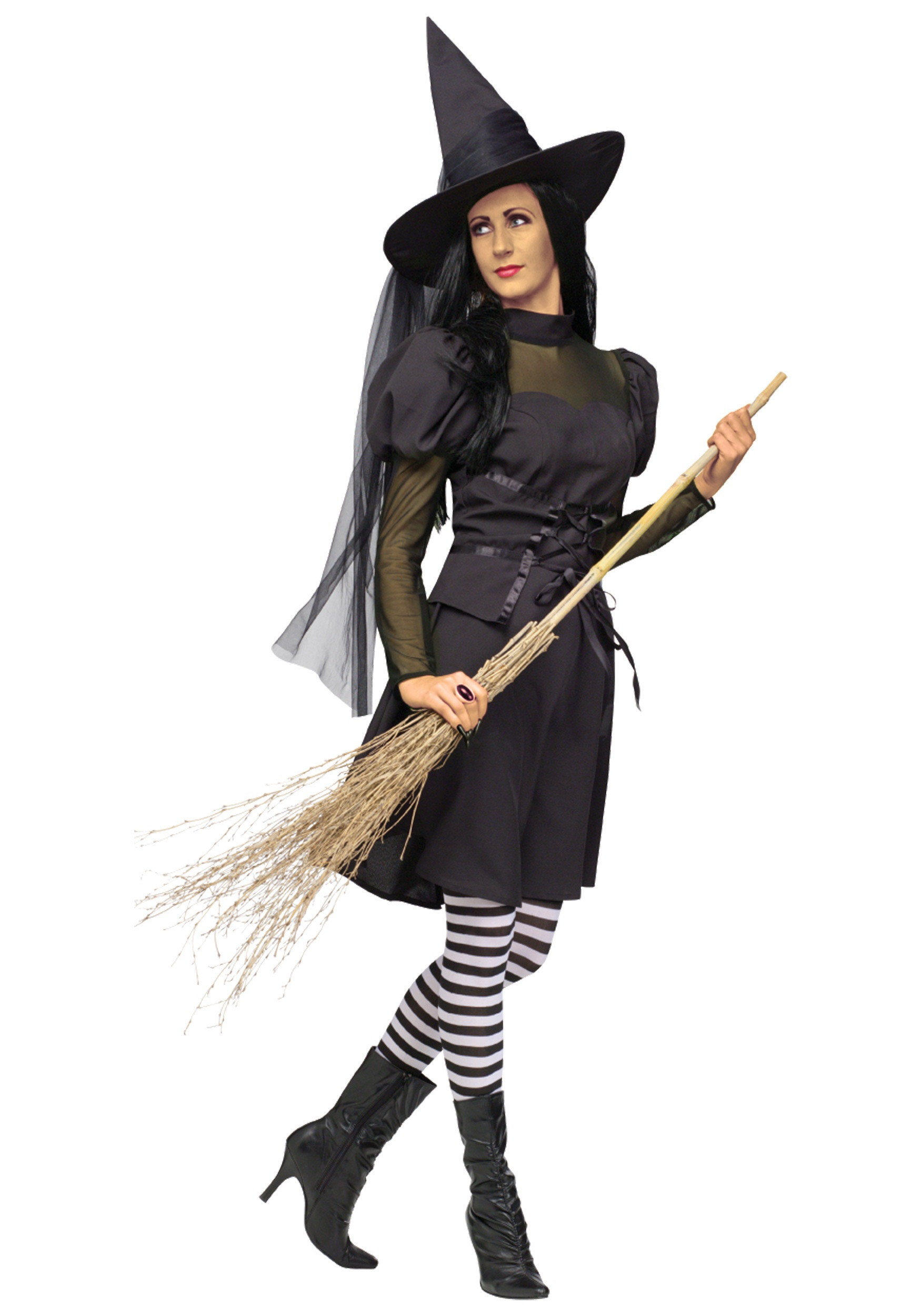 Adult Ms. Witch Costume  sc 1 st  Halloween Costumes & Adult Ms. Witch Costume - Halloween Costumes