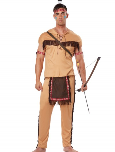 Adult Native American Brave, halloween costume (Adult Native American Brave)