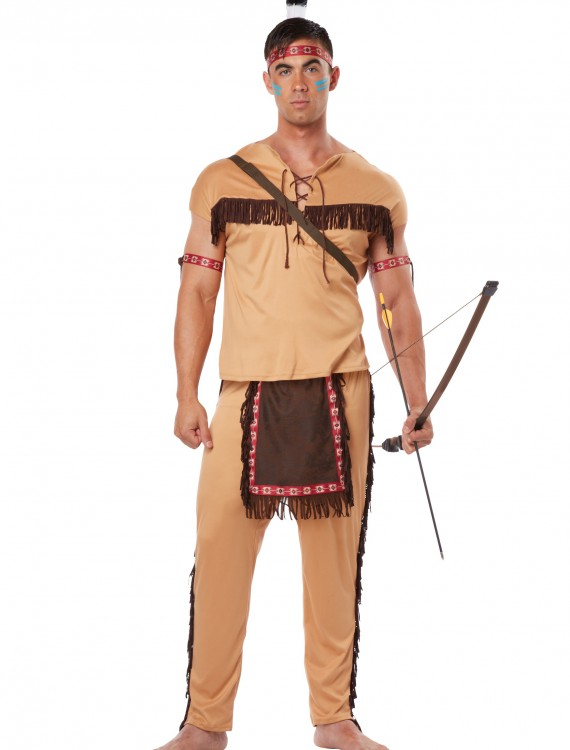 Adult Native American Brave, halloween costume (Adult Native American Brave)