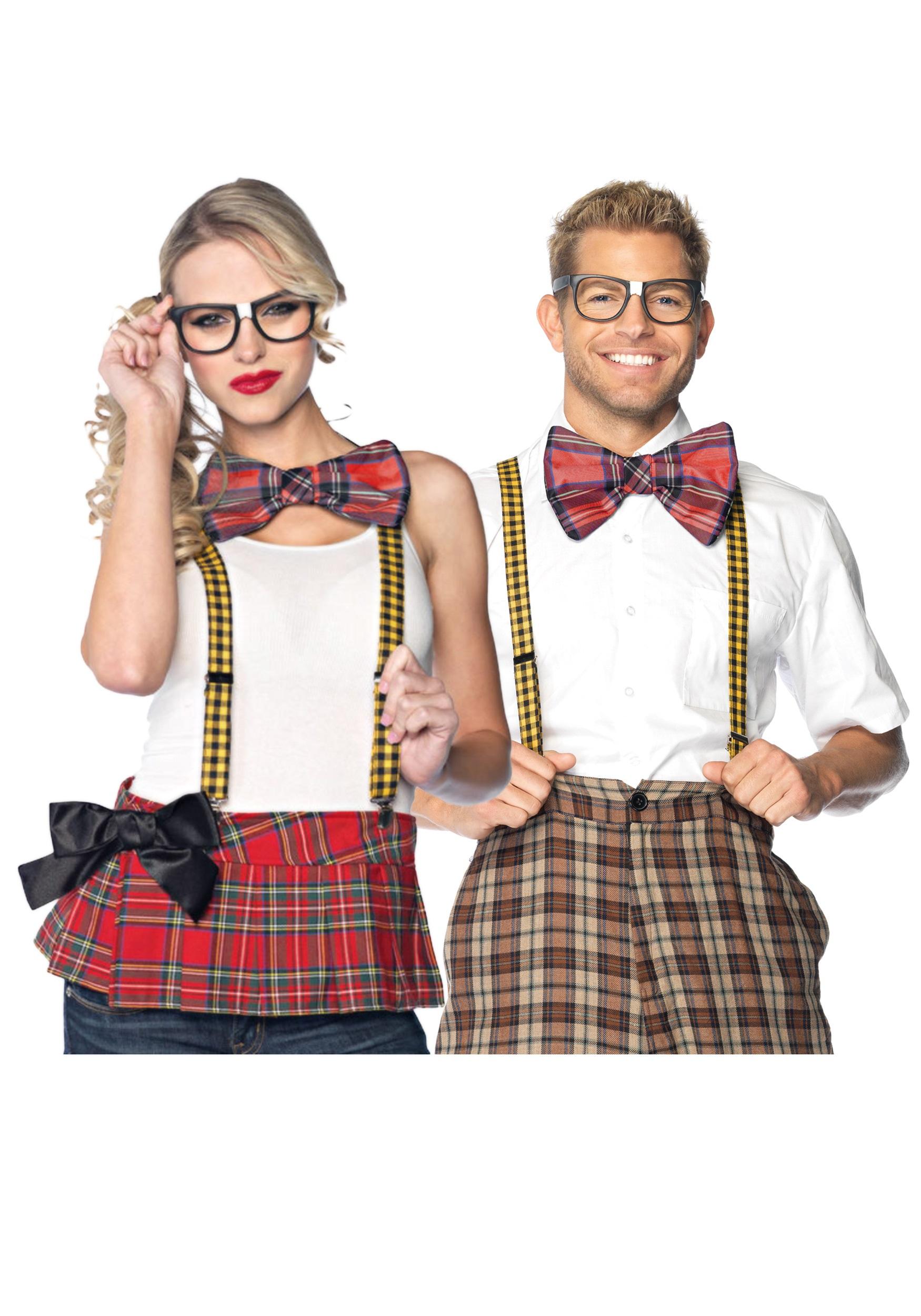 adult nerd accessory kit halloween costumes