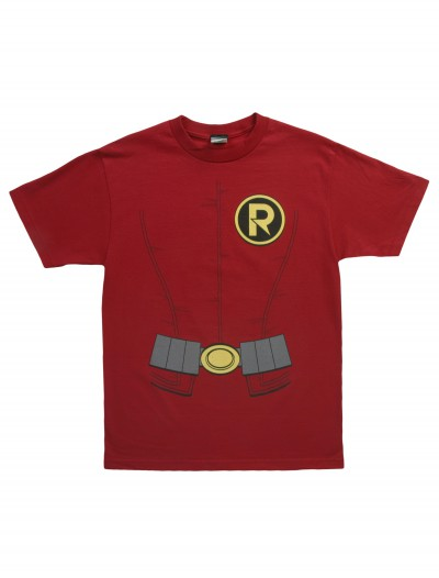 Adult New Robin Costume T-Shirt, halloween costume (Adult New Robin Costume T-Shirt)