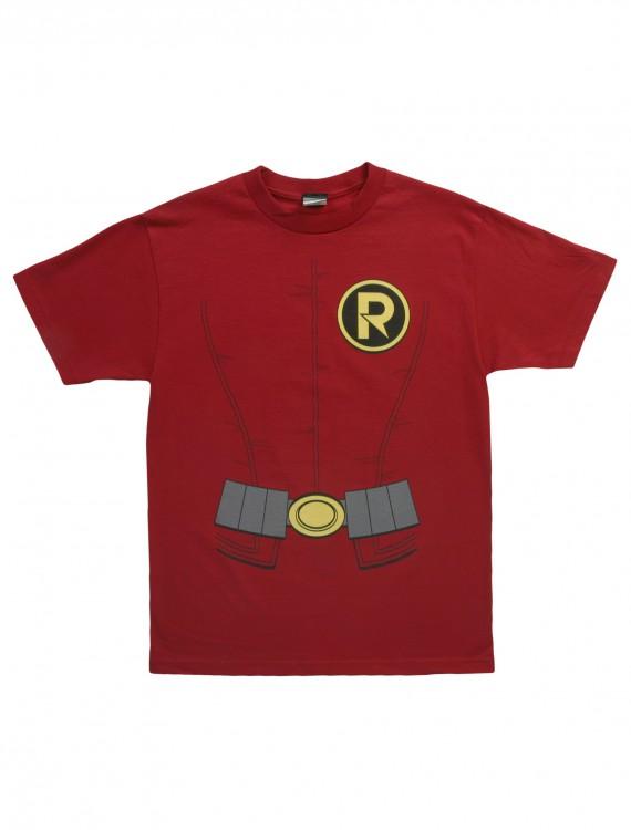 Adult New Robin Costume T-Shirt, halloween costume (Adult New Robin Costume T-Shirt)